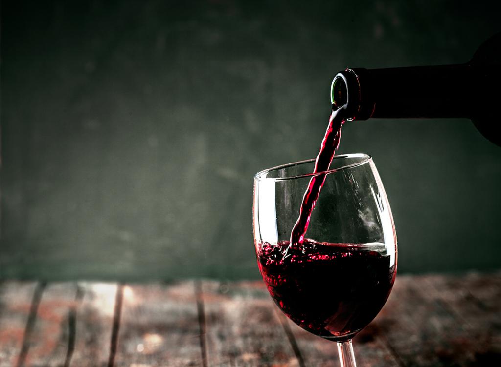 Taça de vinho tipo bordeaux
