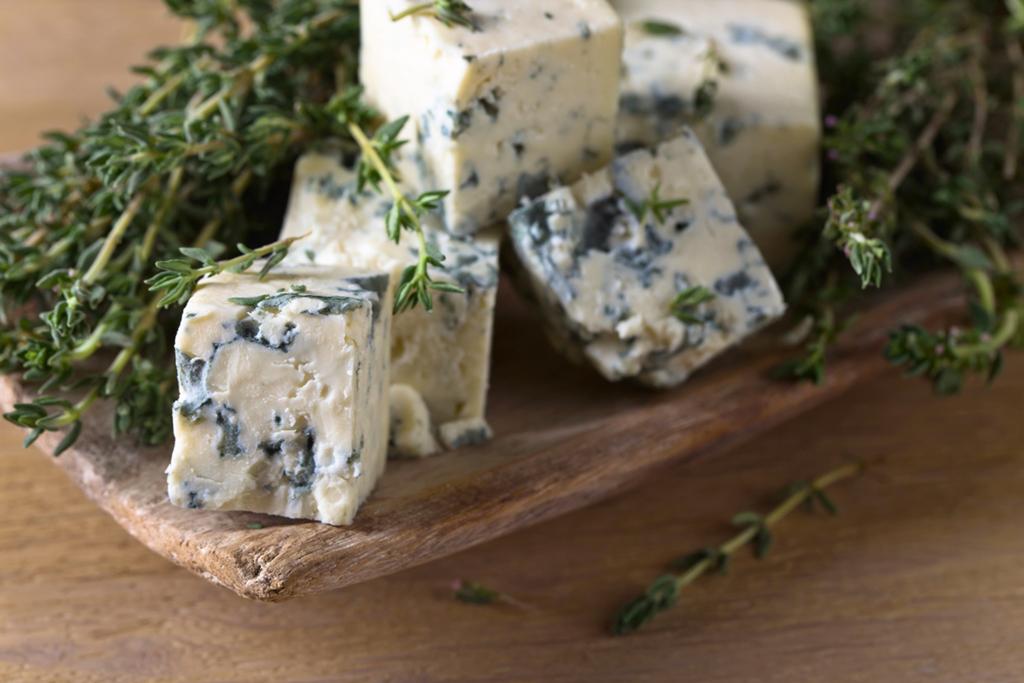 Queijos azuis fazem ótimas combinações com vinho de sobremesa