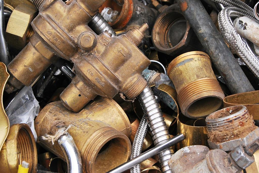 sucata de cobre é um dos grandes lucros de empresas
