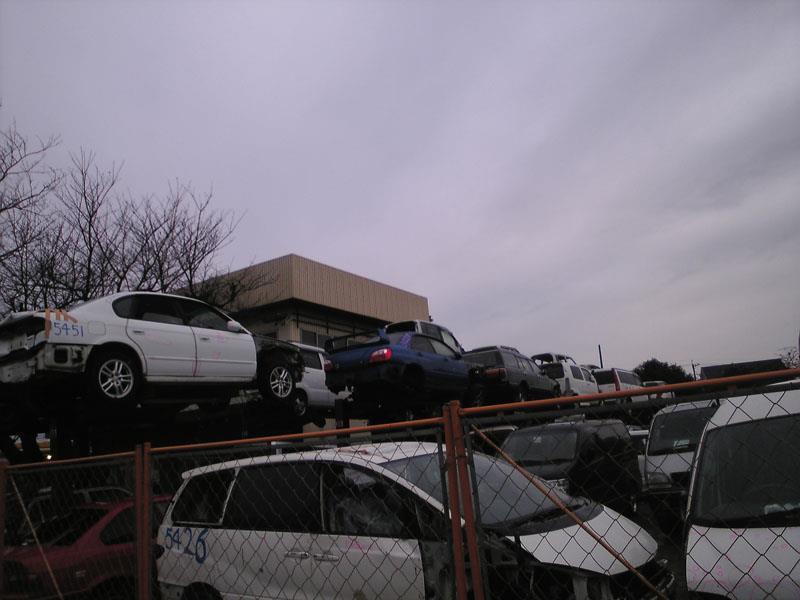 depois de ser considerado a perda total do automóvel, provavelmente as peças serão vendidas para um ferro velho