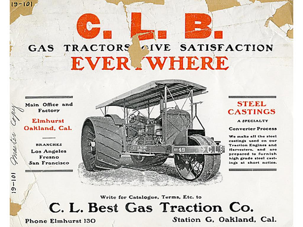 C. L. Best Gas Traction Co.