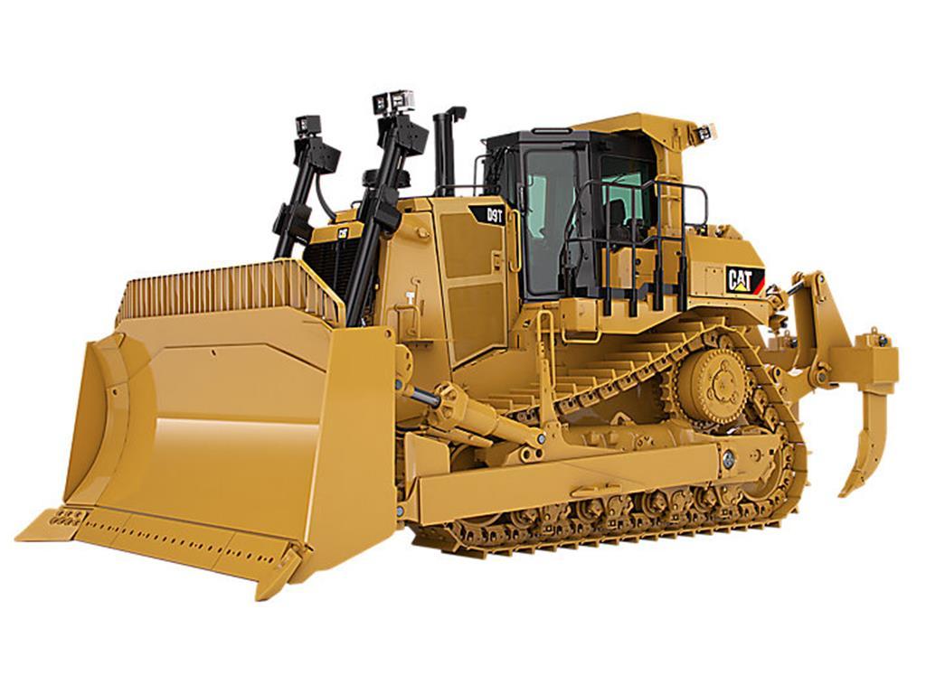 O novo amarelo em um Trator de Esteiras D9T