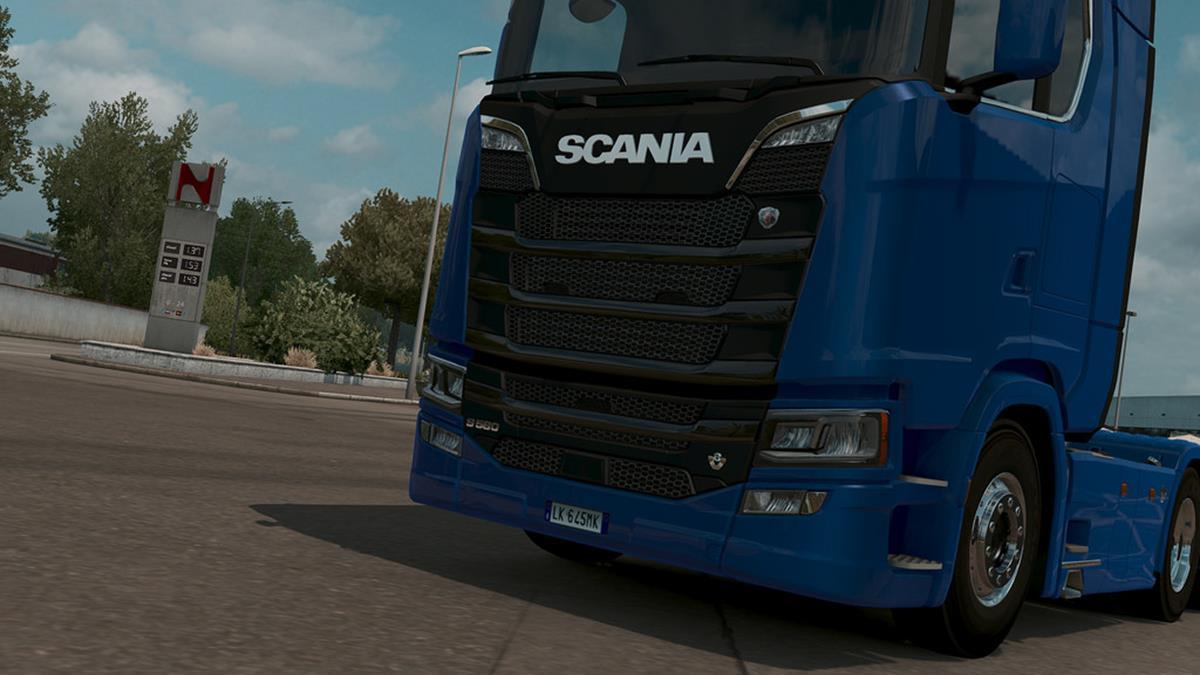 imagem do jogo Euro Truck Simulator 2