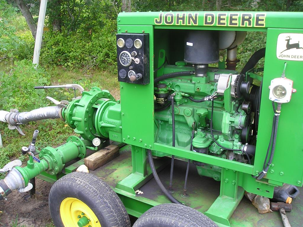 após adquirir algumas empresas no ramo de irrigação, a marca lançou-se no mercado formando a John DeereWater