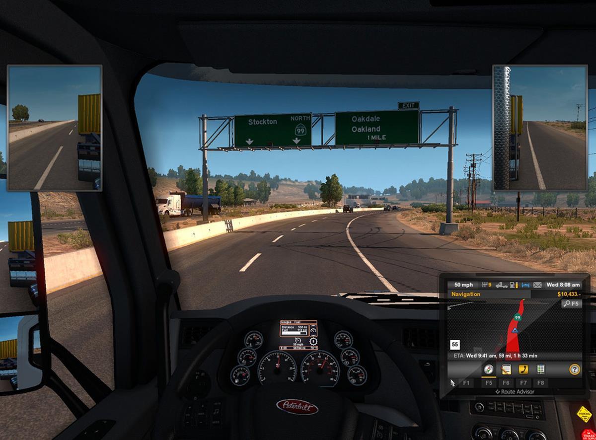 imagem tirada de simuladores de caminhão