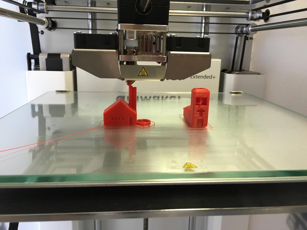 uma das vantagens da impressora 3D é seu alto nível de detalhamento