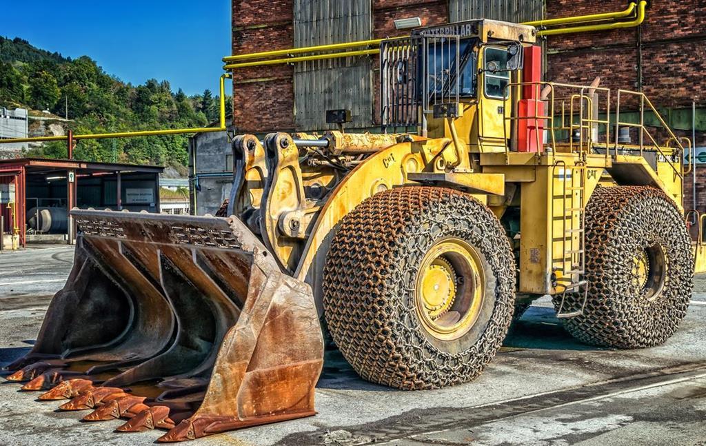 Manuteção é mais importante quando a carregadeira está sob condições severas de trabalho como pedreiras