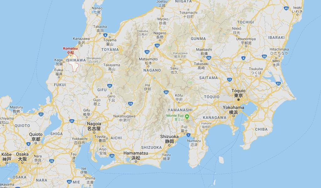 Cidade de Komatsu, Japão
