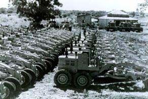 Exportação de motoniveladoras para a Argentina