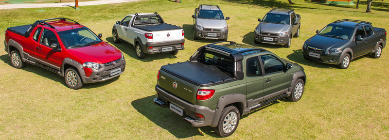 Variedade e estilo fazem parte da história do Fiat Strada
