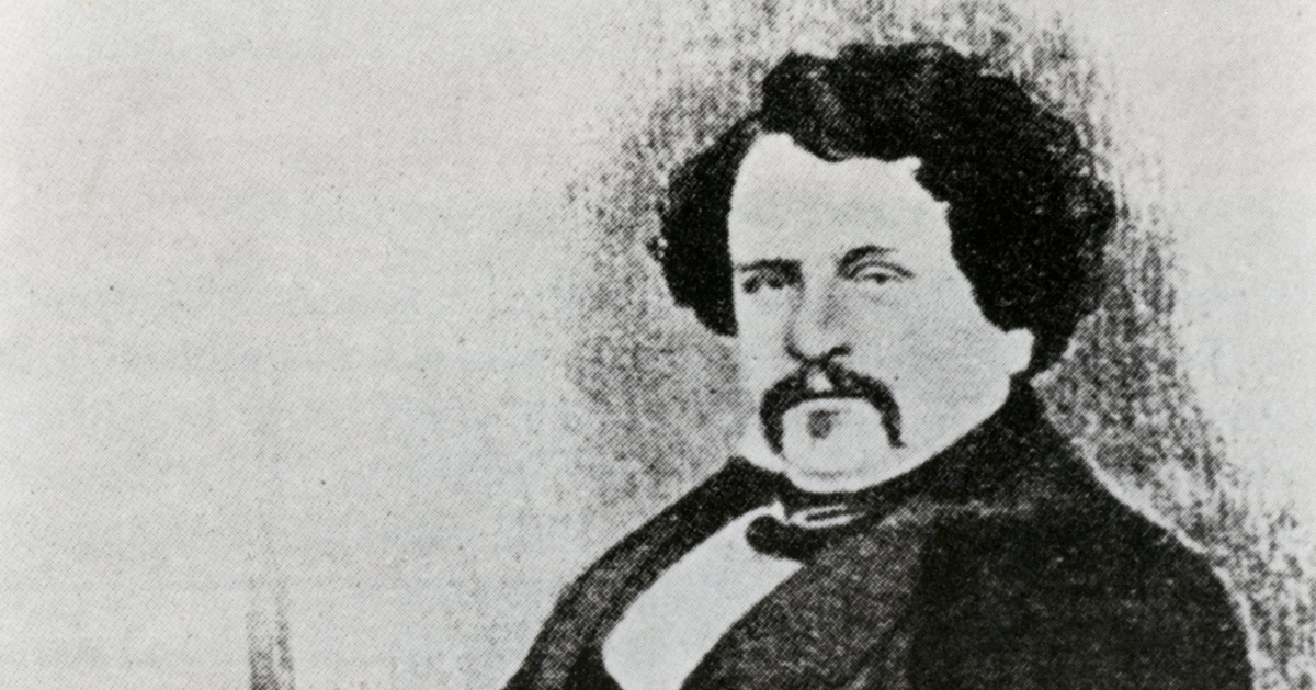 O Rosto de Joseph Aspdin, criador do cimento