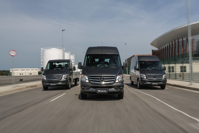 Sprinter, a van da Mercedes Benz