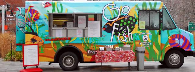 Food Truck que utilizou uma van para a modificação