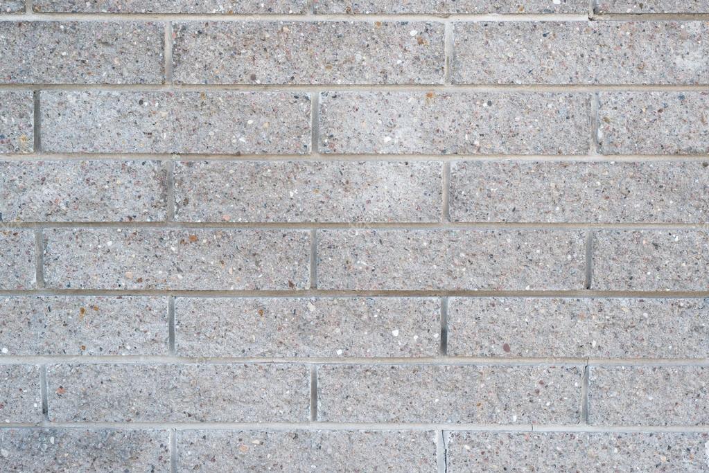 Imagem de parede aplicada com blocos de concreto