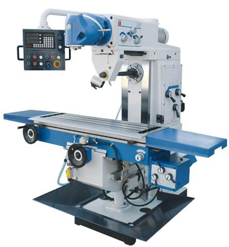 máquinas fresadoras: modelo de máquina fresadora universal