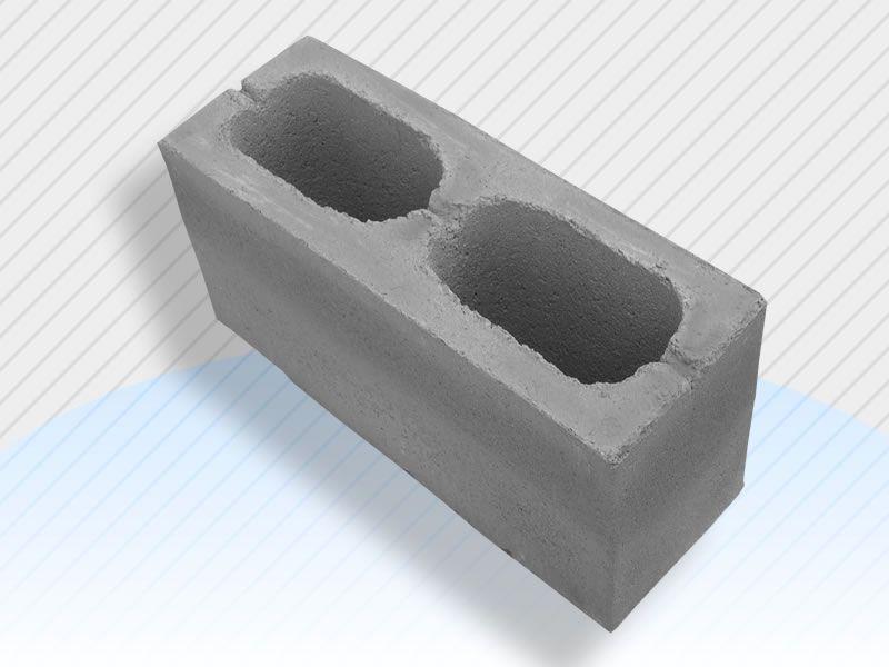 Modelo de bloco de concreto estrutural