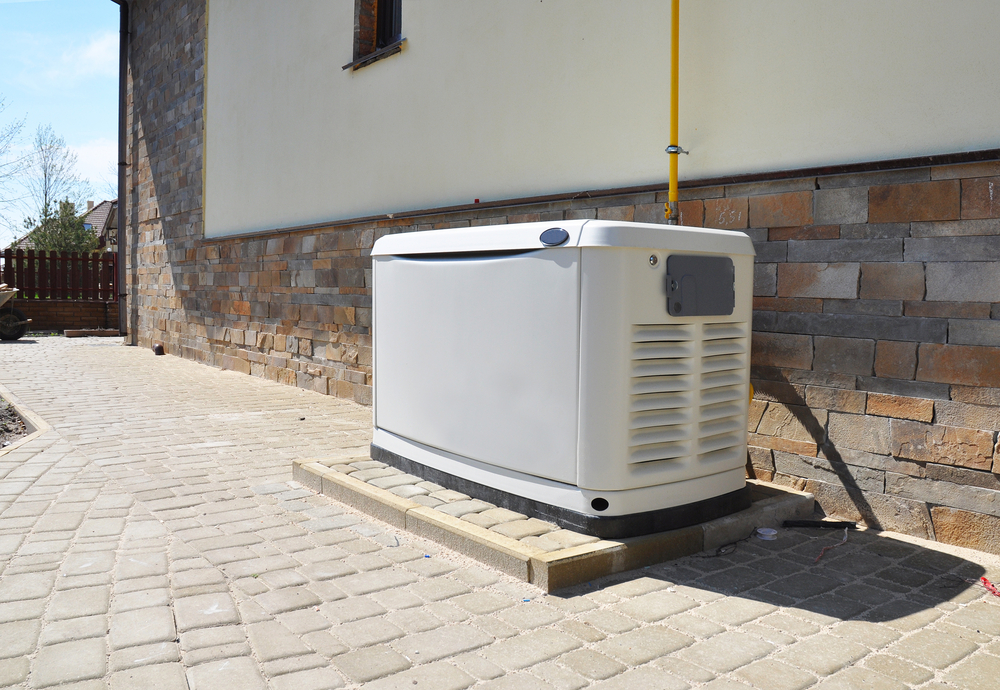 gerador de energia em uma residência