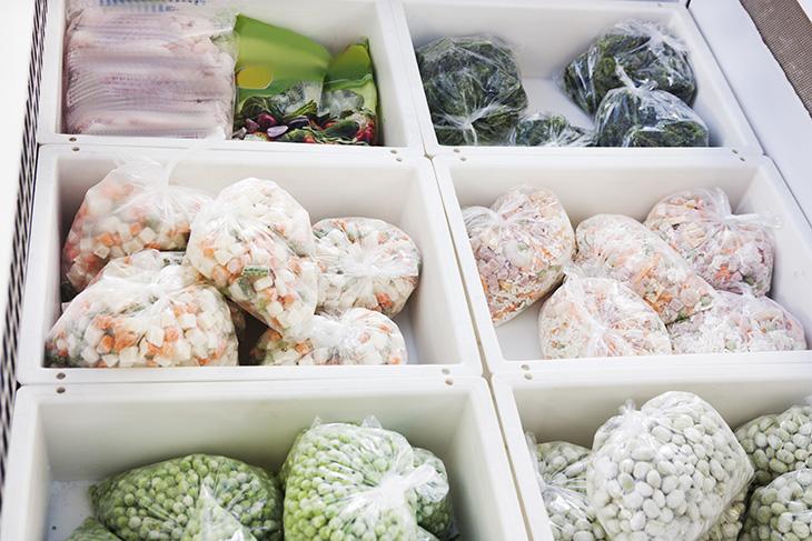 conservação de alimentos preparados anteriormente