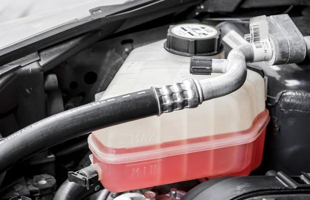 Tanque de água do carro