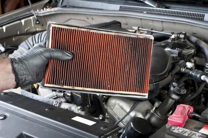 modelo de filtro do carro
