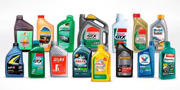 marcas de óleos lubrificantes para carro