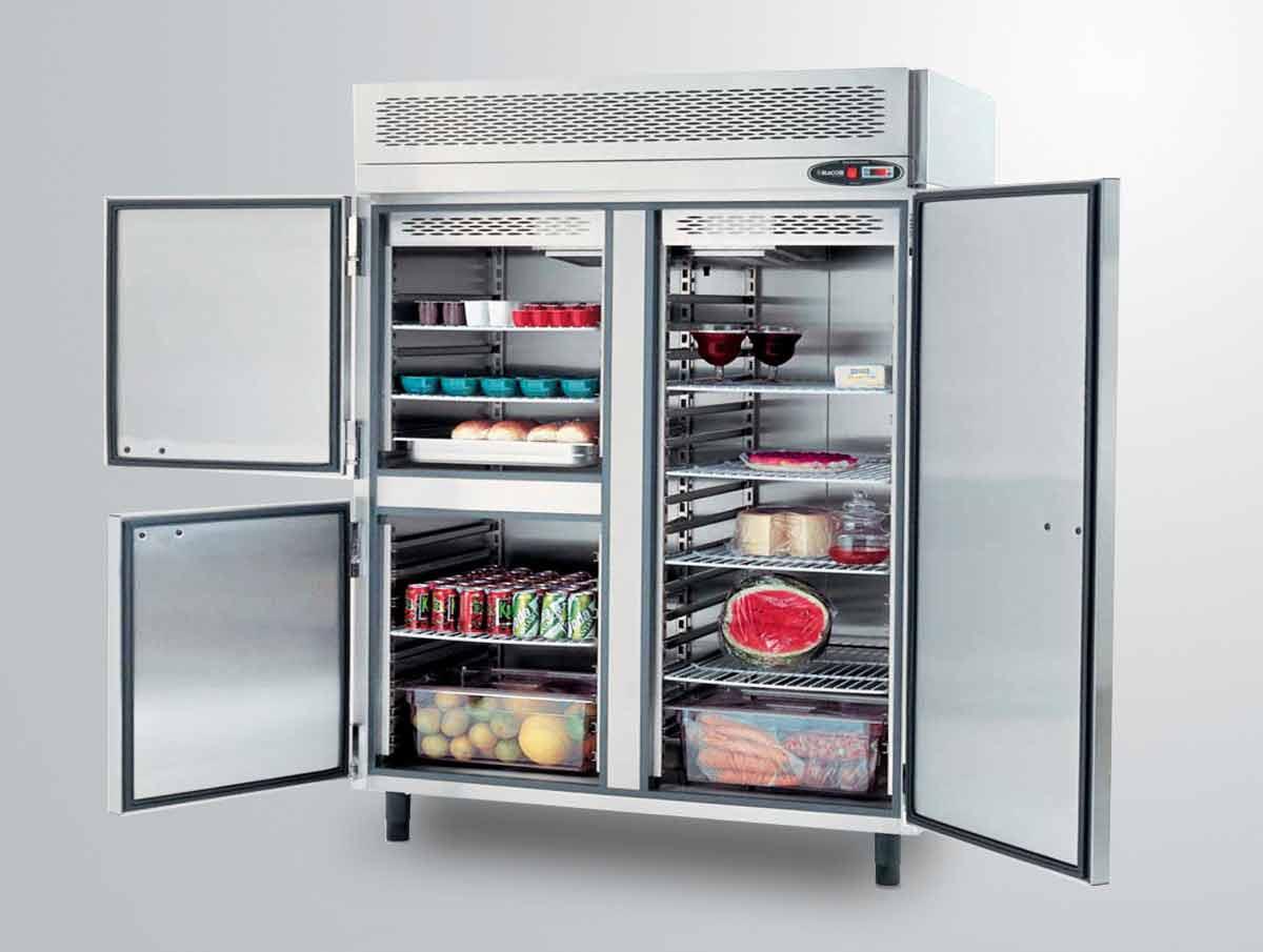 modelo de refrigerador para cozinha industrial