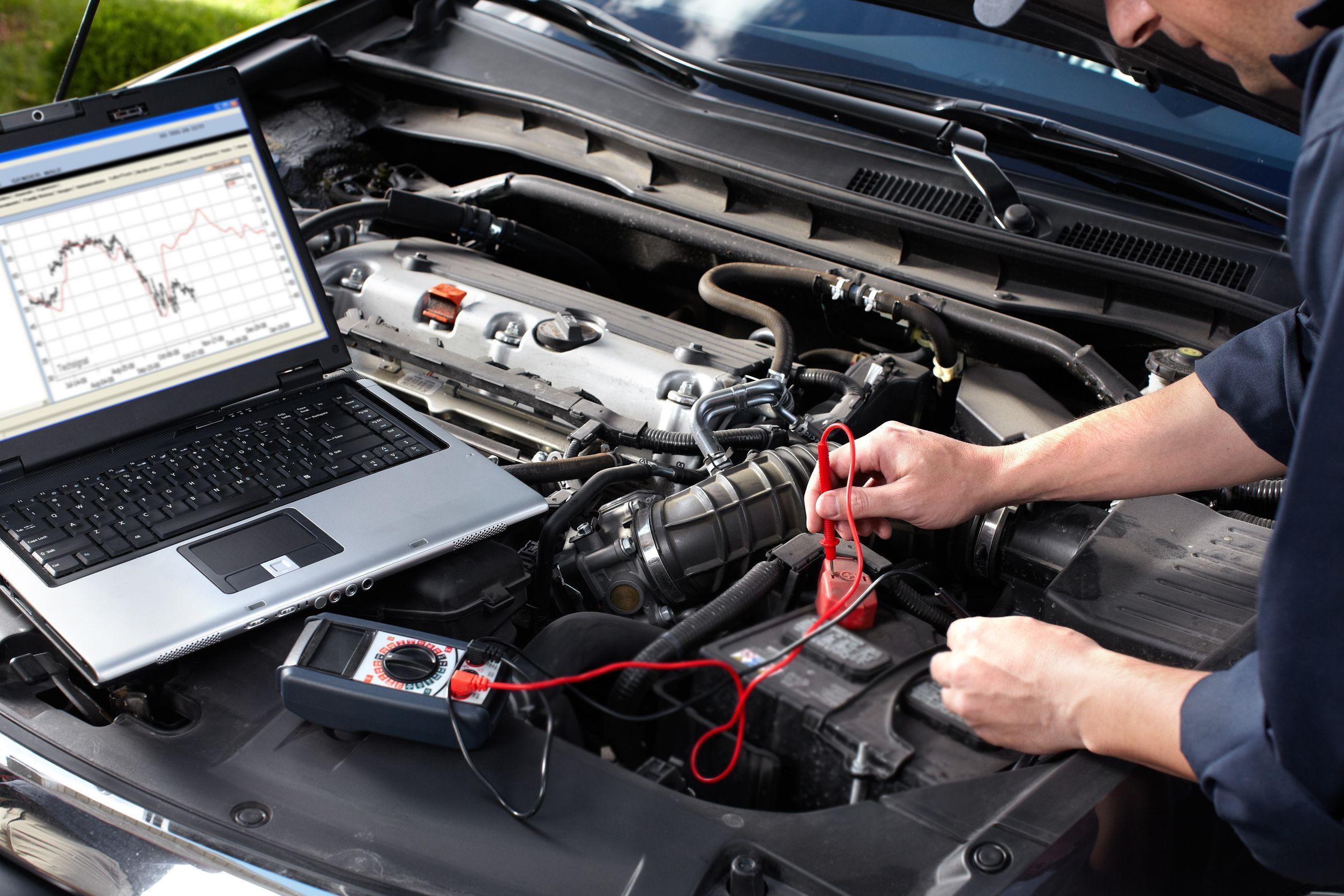 sistema eletrico de um carro