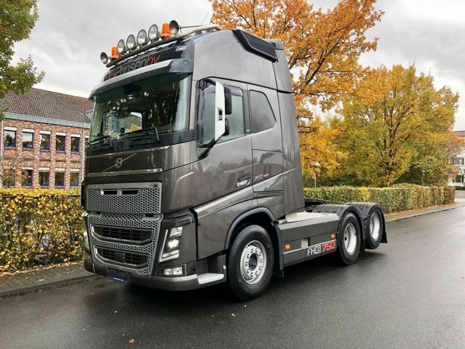 modelo volvo FH16 750 o caminhão mais potente do brasil
