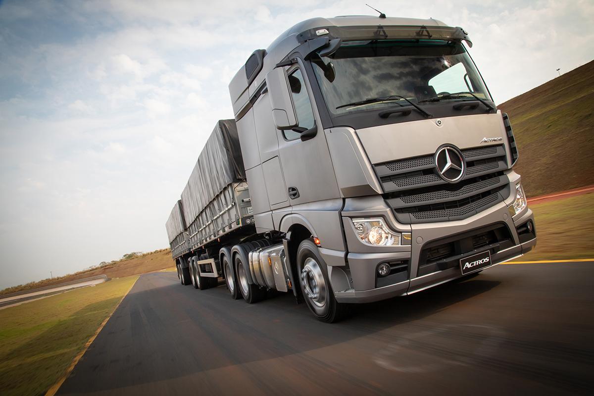 caminhões mais caros do mundo actros mercedes benz 2020