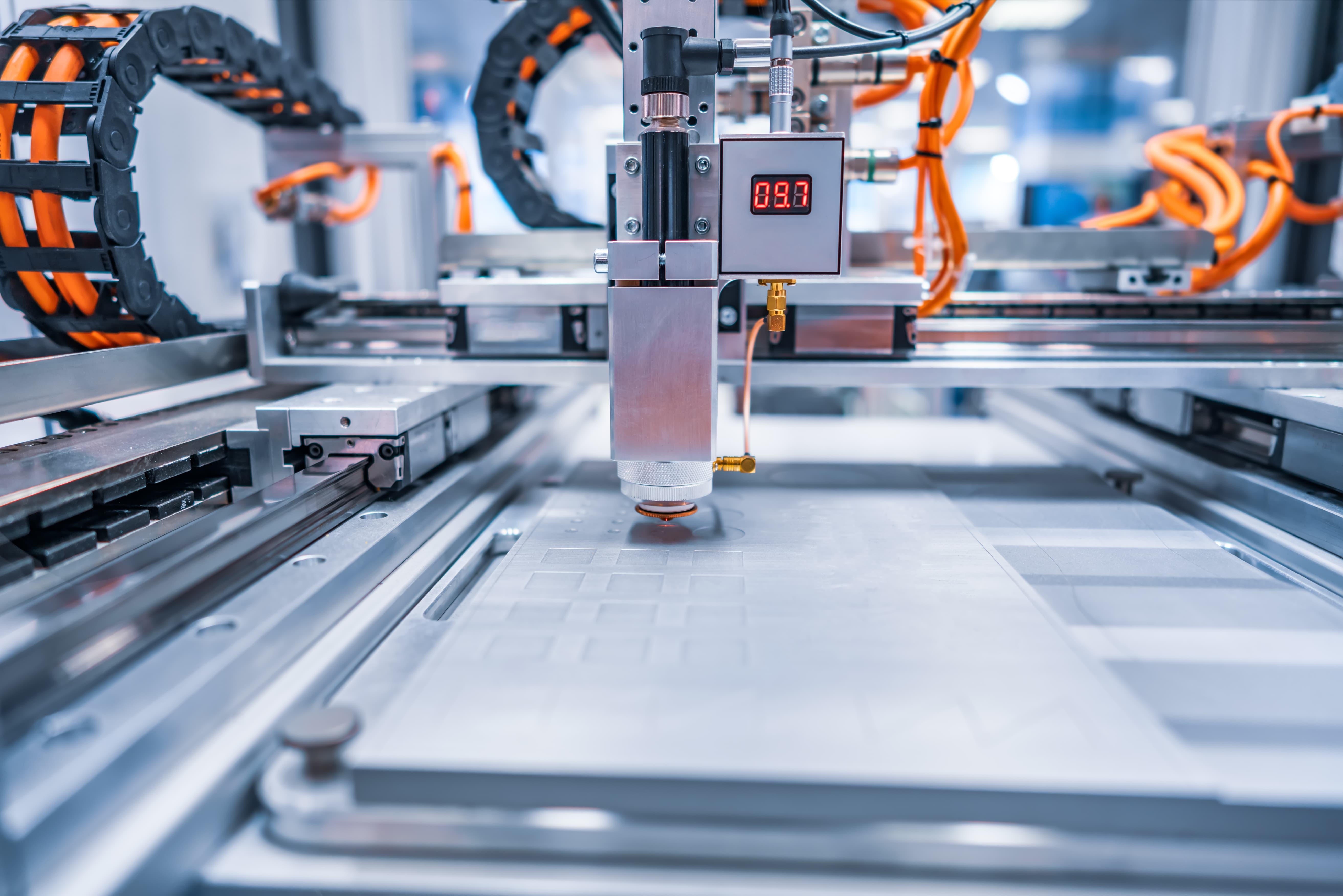 máquinas da nova revolução industrial