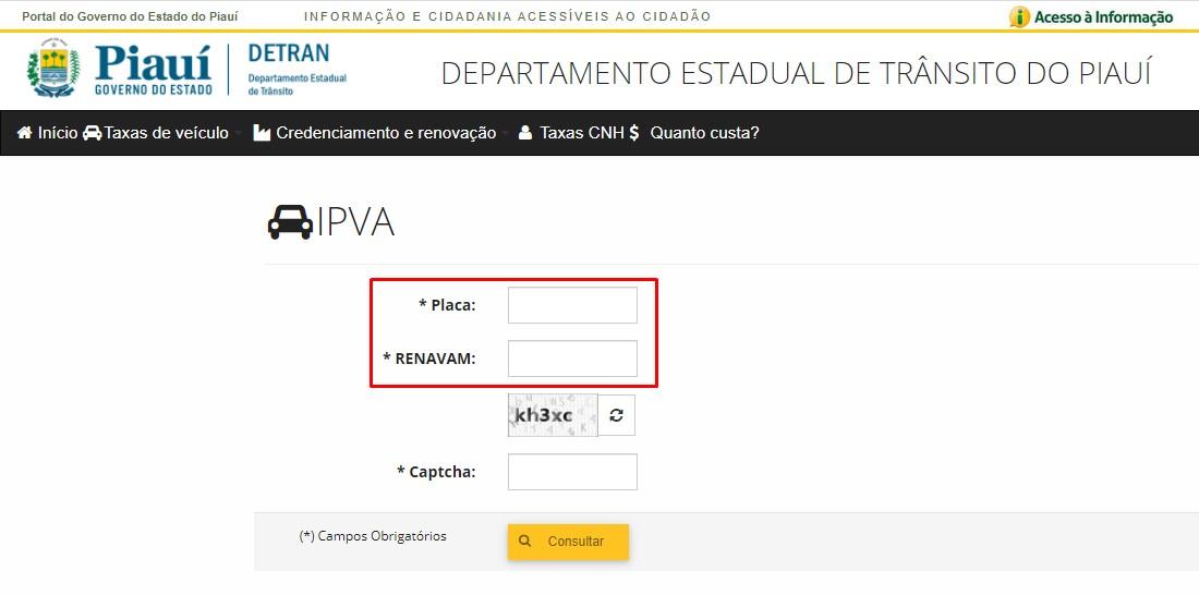 IPVA PI 2021